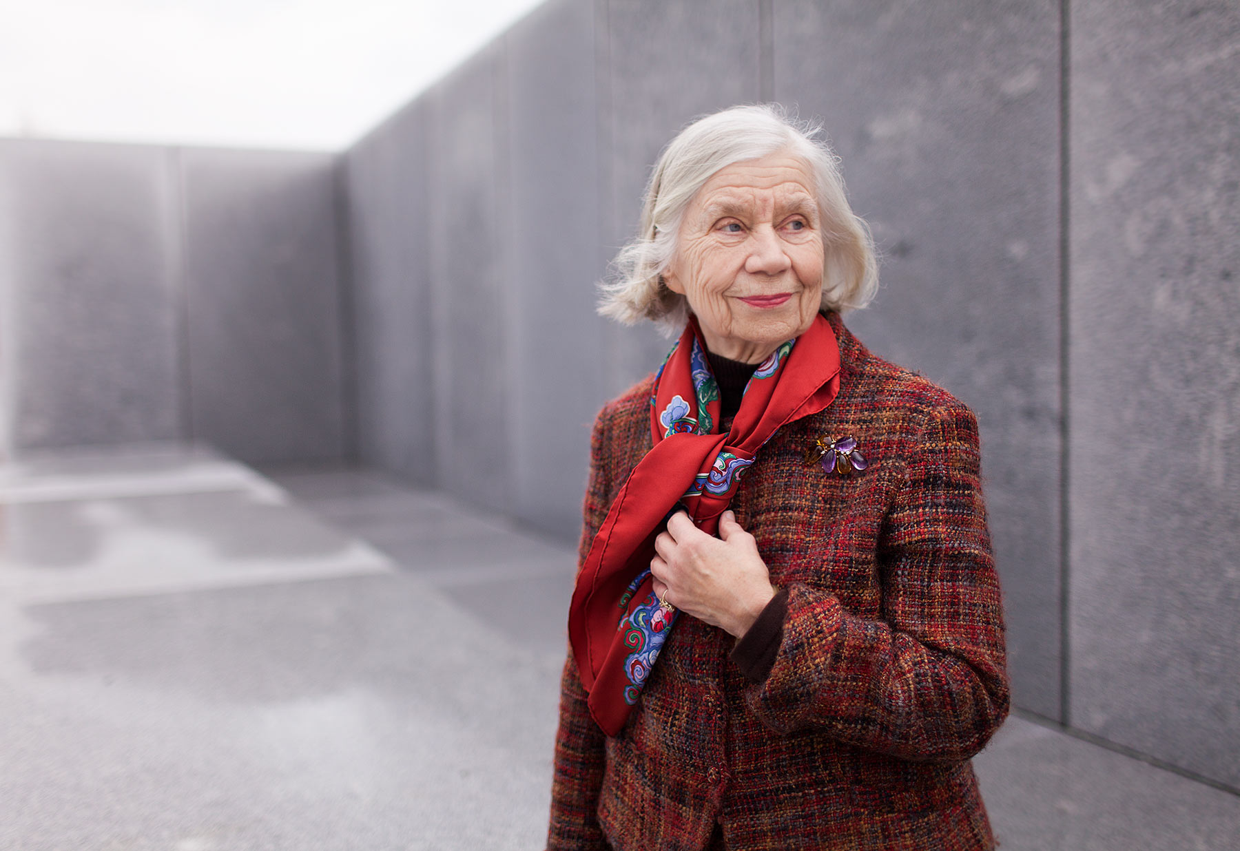 Don Hamerman Portraits - Harriet Pattison - Louis Kahn