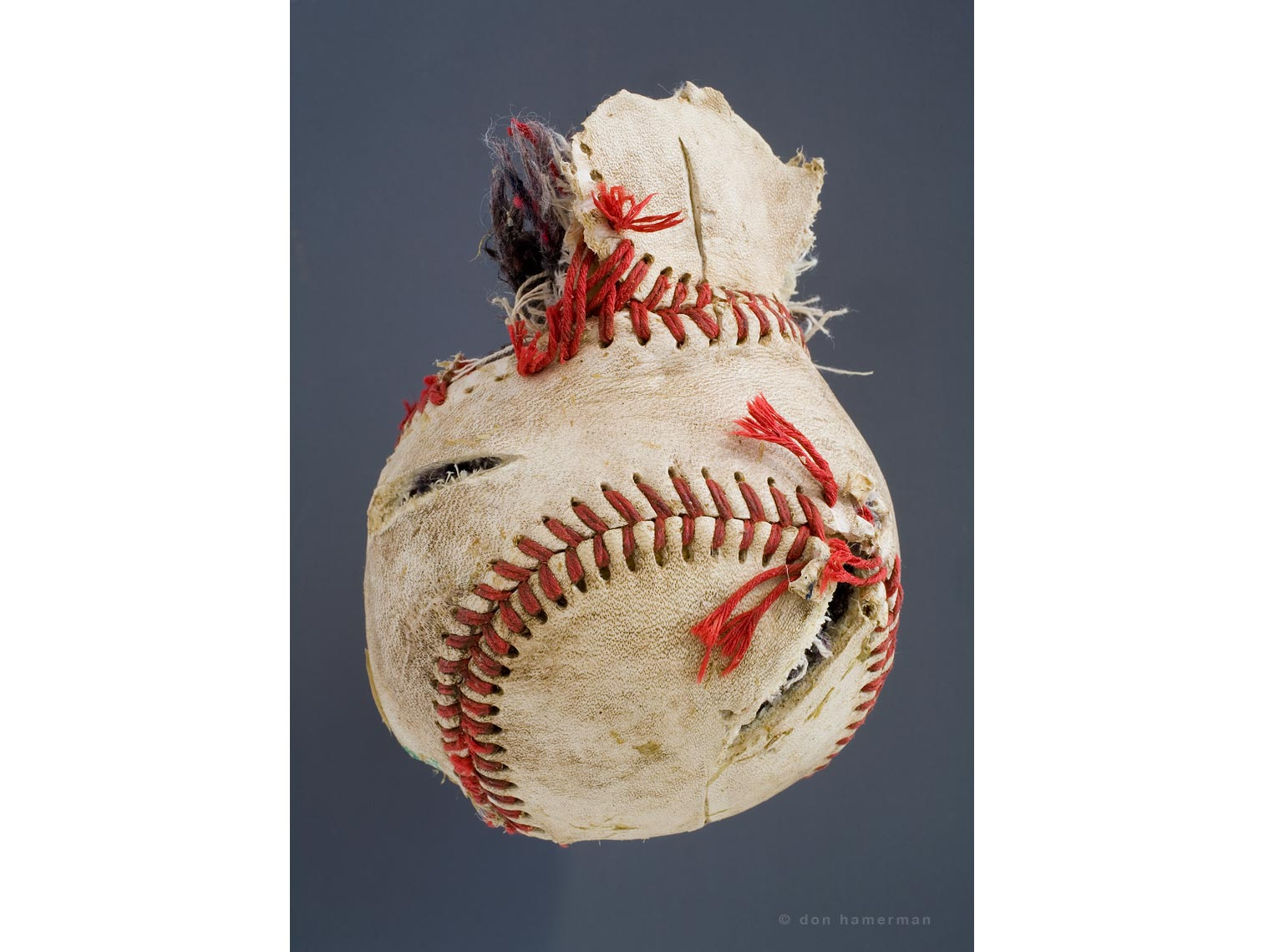 Don Hamerman Baseball Portrait - Fine Art Print ©DON HAMERMAN